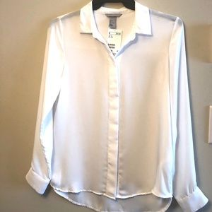 NWT! White Blouse